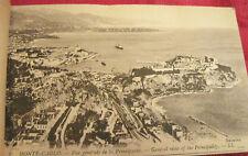 Antique Monaco & Monte Carlo Detachable Postcards Booklet Circa 1900 Unused