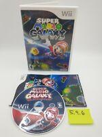 Super Mario Galaxy (Nintendo Wii, 2007) Complete CIB with Case & Manual, Bros.