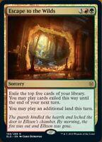 MTG x4 Escape to the Wilds Throne of Eldraine RARE NM/M Magic the Gathering