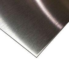 "304 Stainless Steel Sheet .029"" (22 ga.) x 24"" x 48"" - #4 Brushed Finish"