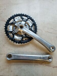 Shimano Deore LX FC-M563 Chainset Crankset Crank 42/32/22 rings 175mm arms