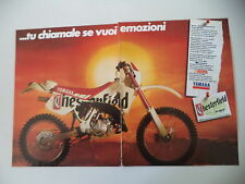 advertising Pubblicità 1991 MOTO YAMAHA WR 125 CHESTERFIELD SCOUT