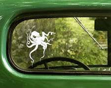 2 OCTOPUS DECAL Stickers For Car Window Truck Bumper Laptop RV