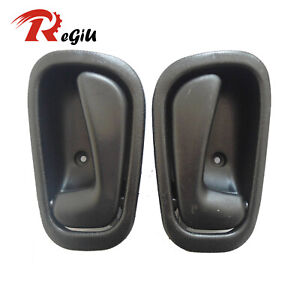 For 98-02 Toyota Corolla Chevy Inside Interior Black Left Right Side Door Handle