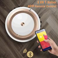 Intelligent Smart Robot Vacuum Cleaner 2000Pa App Remote Control Floor Sweeper