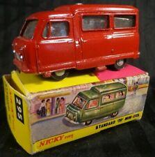 Vintage 1950's NICKY TOYS STANDARD MINI BUS #295 NEW- Scarce Rare CALCUTTA Toy
