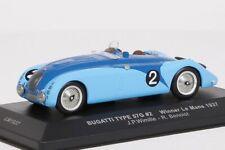 Bugatti 57G #2  Le Mans 1937 J.P.Wimille - R.Benoist IXO 1:43 NEU OVP LM1937