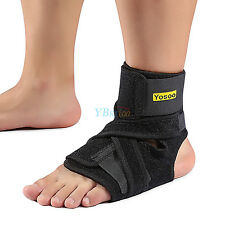 1PCS Yosoo Breathable Compression Foot Orthosis Brace Strap Drop Ankle Support