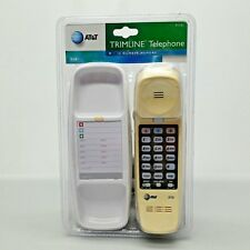 Vintage New AT&T Touch-Tone Trimline 210 Classic Retro Wall or Desk Phone