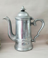 WILTON ARMETALE Pewter - COUNTRY FRENCH Pattern - COFFEE POT