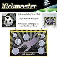 Kickmaster Indoor Target Shot Football Training Shooting Game Includes Ball