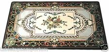 4'x2' Marble Dining Table Top Mosaic Work Inlay Gems Grand Art Decor Furniture