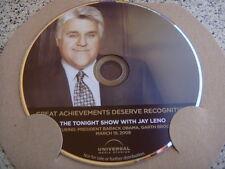THE TONIGHT SHOW WITH JAY LENO EMMY DVD GARTH BROOKS PRESIDENT BARACK OBAMA
