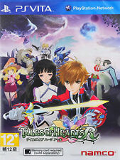 Tales of Hearts R (Sony PlayStation Vita, 2014)