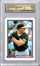 1991 Bowman #234 MARK MCGWIRE NM-MT GRADED CARD ~ OAKLAND A's