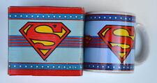 SUPERMAN SHIELD CERAMIC MUG 1986 DC MIB
