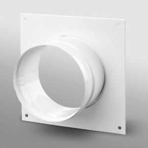 """Hydroponic Duct Wall Plate for Grow Room Ventilation Extract Fans 4 5 6 8 10 12"""""""
