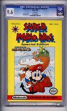 CGC (VALIANT) SUPER MARIO BROS. SPECIAL EDITION #1 Nintendo 1990 CGC NM+ 9.6