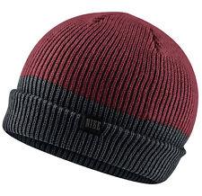 NEW Nike Two Tone Beanie Red / Black 547765-677 Cap Running Skateboard Unisex
