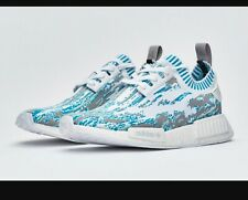 BB6364 Adidas Datamosh NMD_R1 PK Blue/Grey/White Men's Size 10