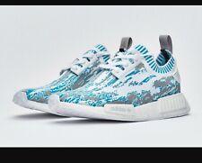 62425c4494ec BB6364 Adidas Datamosh NMD R1 PK Blue Grey White Men s Size 12.5