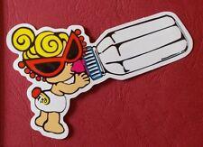 "Sticker Decal "" Funny Baby "" Gloss-Optics Stickerbomb Skateboard Laptop"