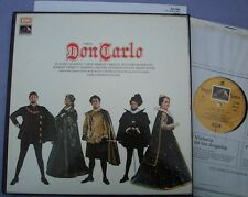 SLS 956 VERDI Don Carlo GIULINI Domingo Caballe NEAR MINT UK EMI HMV