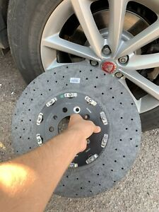 Brembo Ceramic Brake Discs 400mm Audi Porsche S6 Ferrari Gtr Mercedes Amg