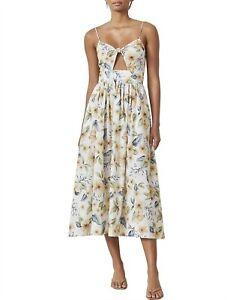 bec and bridge fleurette midi dress