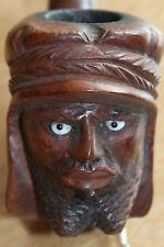 pipe sculptée orientaliste bruyere choisie f.b.c saint claude signée eflécé