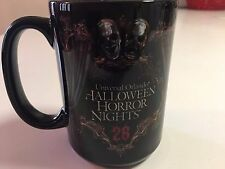 UNIVERSAL ORLANDO HALLOWEEN HORROR NIGHTS HHN 25 JACK CLOWN COFFEE MUG 2016