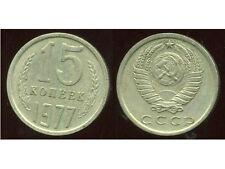 RUSSIE   15 kopek   1977  ( bis )