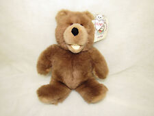 VTG 1988 GUND COLLECTORS CLASSIC SPANKY STUFFED BEAR MINI HUGABILITY BOOKLET