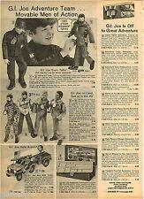1972 ADVERT 5 PG GI Joe Copter Jeep Patrol Set Big Jim Motorcycle Action Jackson