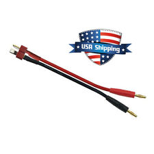 4mm Bullet to T-Connector (Deans Style) Charge Cable Wire for RC LiPO Battery