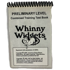 Whinny Widgets Preliminary Level Combined Training Test Book 1989 Horse Vtg