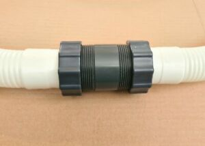 Bestway or Intex 38mm swimming pool hose connectors extensions to join 2 pipes