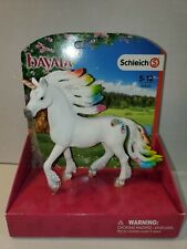 Schleich Rainbow Unicorn Stallion Figure Toy Figure 70523 New Bayala