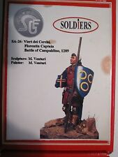54mm Kit: SA-26 Vieri dei Cerchi, Florentine Captain at the Battle of Campaldin