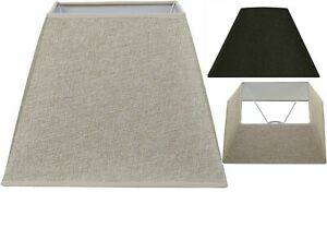 Home Decoration Dual Purpose Ceiling Or Table Fabric Square Lamp Shade