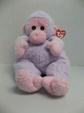 Rare Large Plush Ty Baby Monkeybaby Pillow Pal with baby rattle 1999 pluffies