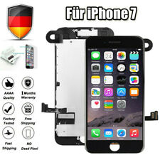 Für iPhone 7 LCD Display mit RETINA Glas VORMONTIERT Komplett Front Schwarz DE