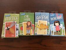 Child's Kid's Set Of Fun Card Games