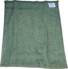 "Pack of 12 Face Cloth - Plain 100% Cotton - Face Flannel 11"" x 11"" Green - UK"