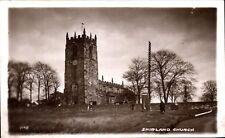 Shirland near Alfreton. Church & Telephone Box # 2.