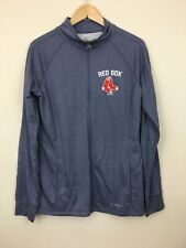 boston red sox therma ease majestic womens zip up blue XL