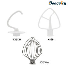 K45DH,K45WW,K45B Mixer Dough Hook Kit Compatible with KitchenAid by Beaquicy
