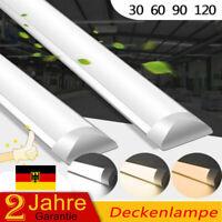 30/60/90/120cm LED Tube Röhre LeuchtstoffröhrLEe Lichtleiste Deckenleuchte Lampe