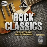 ROCK CLASSICS:THE COLLECTION (ZZ TOP, FOREIGNER, FAITH NO MORE,...) 4 CD NEW!
