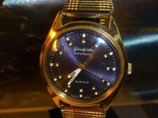 Vintage Spezimatic Top Glashutte Plaque 14 K  Gold Plaque, Miner Award Men´s 60s